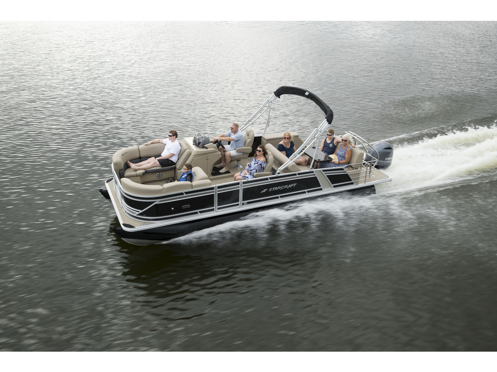 2021 Starcraft boat for sale, model of the boat is Ponton Cx Dl & Image # 2 of 10