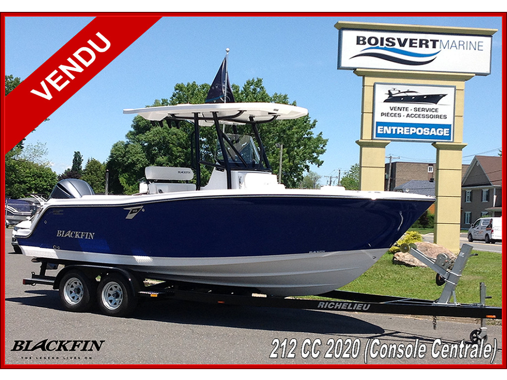 2020 Blackfin boat for sale, model of the boat is 212cc & Image # 1 of 25