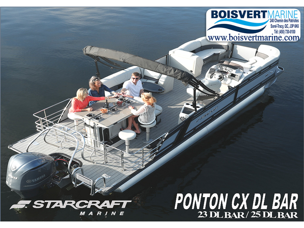 2021 Starcraft boat for sale, model of the boat is Ponton Cx Dl Bar & Image # 1 of 10