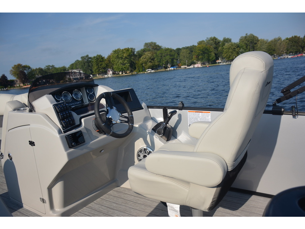 2021 Starcraft boat for sale, model of the boat is Ponton Cx Dl Bar & Image # 3 of 10