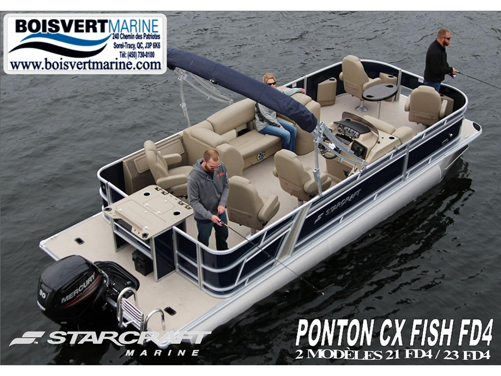 2021 Starcraft boat for sale, model of the boat is Ponton Cx Fish Fd4  & Image # 1 of 13