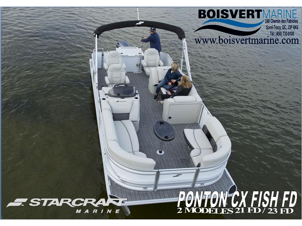 2021 Starcraft boat for sale, model of the boat is Ponton Cx Fish Fd & Image # 1 of 10