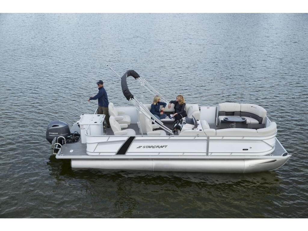2021 Starcraft boat for sale, model of the boat is Ponton Cx Fish Fd & Image # 2 of 10