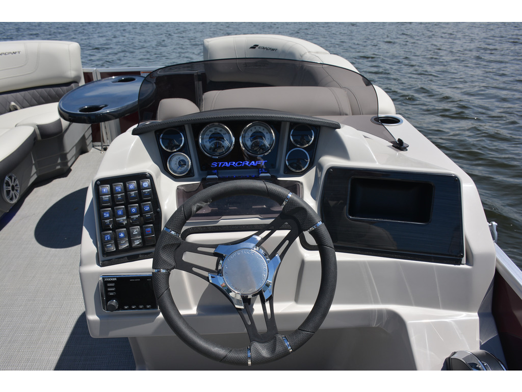 2021 Starcraft boat for sale, model of the boat is Ponton Cx Fish Fd & Image # 4 of 10