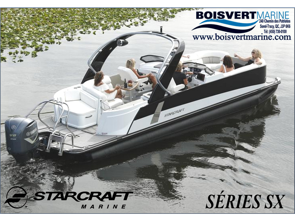 2021 Starcraft boat for sale, model of the boat is Ponton SÉrie Sx & Image # 1 of 15