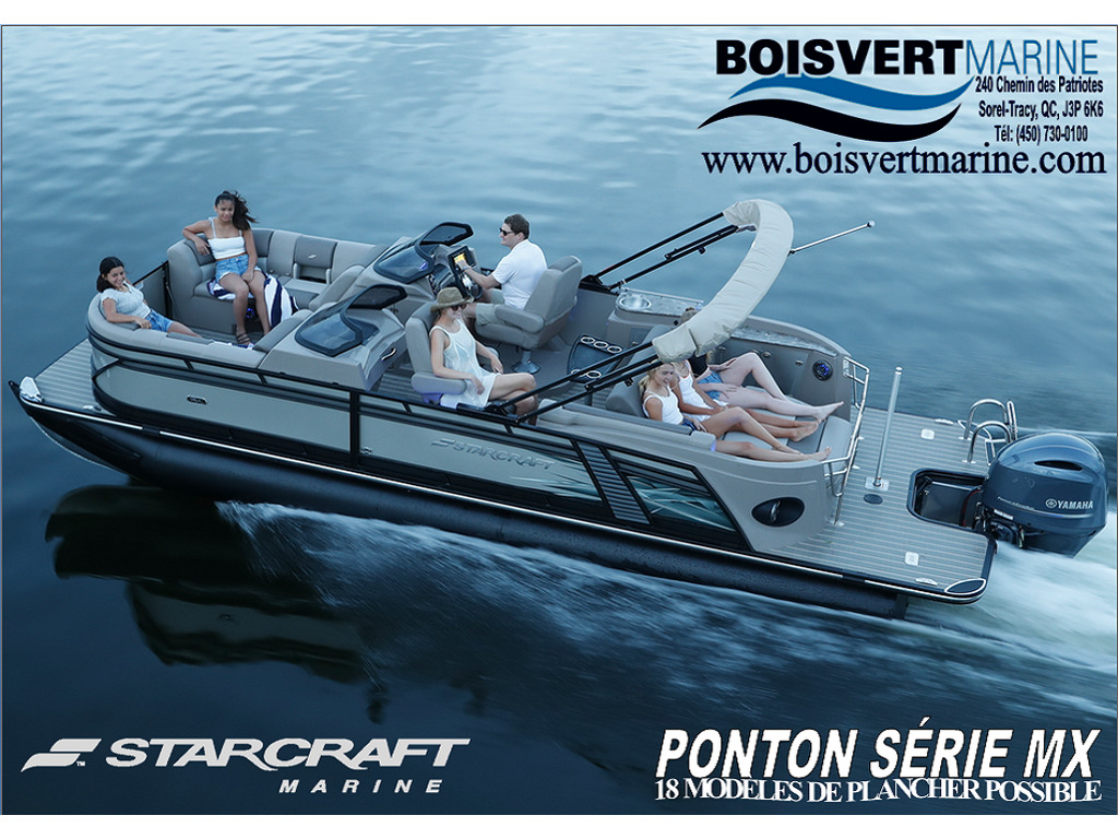 2021 Starcraft boat for sale, model of the boat is SÉrie Mx & Image # 1 of 9