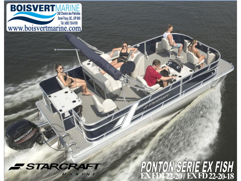 2021 Starcraft boat for sale, model of the boat is Ponton Ex Fish & Image # 1 of 16