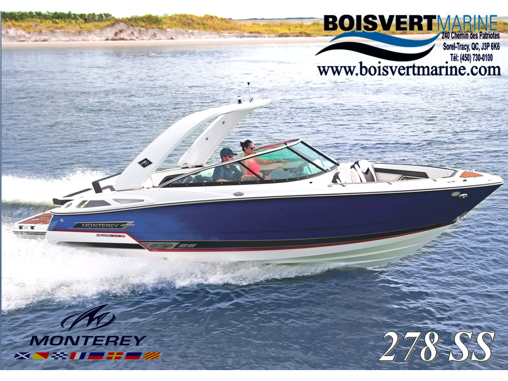 2021 Monterey boat for sale, model of the boat is 278 Ss & Image # 1 of 4