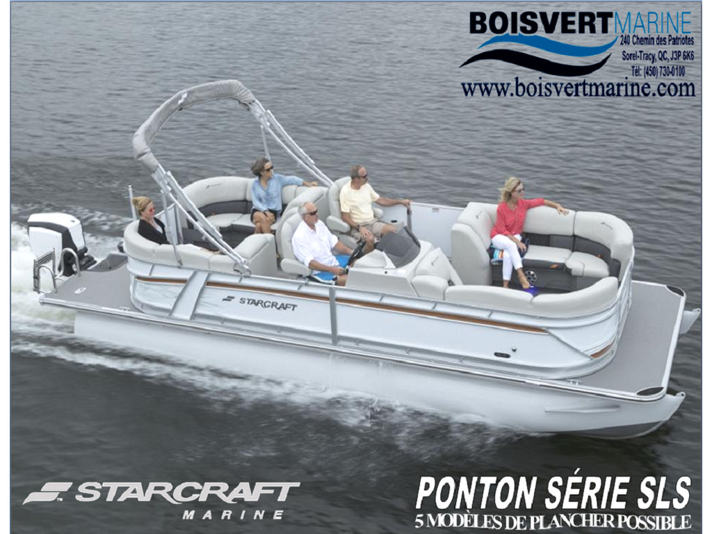 2021 Starcraft boat for sale, model of the boat is Ponton Sls & Image # 1 of 17