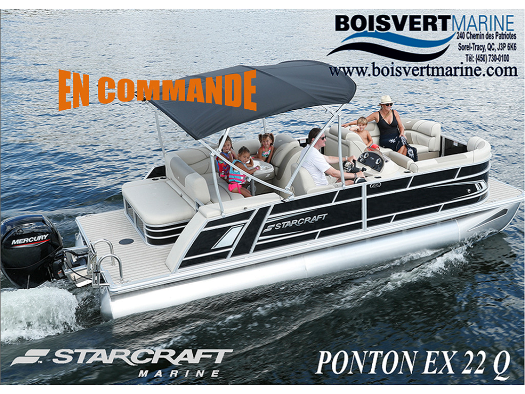 2021 Starcraft boat for sale, model of the boat is Ponton Ex 22 Q & Image # 1 of 9