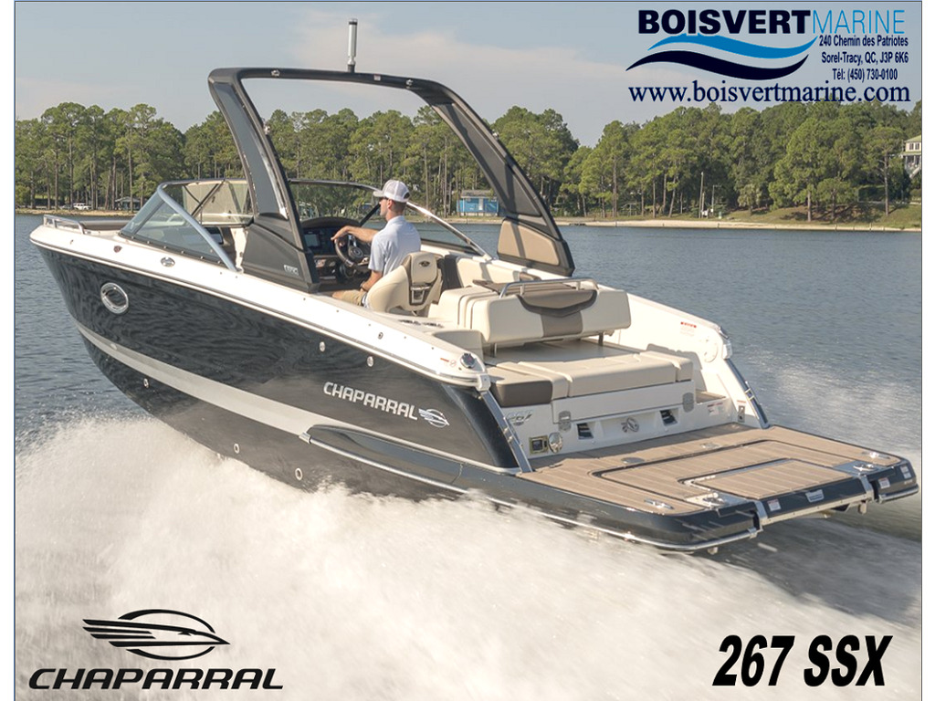 2021 Chaparral boat for sale, model of the boat is 267 Ssx & Image # 1 of 17