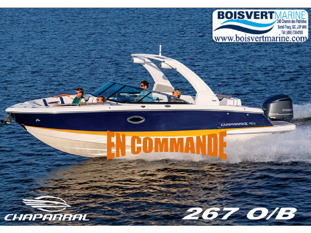 2021 Chaparral boat for sale, model of the boat is 267 O/b & Image # 1 of 16