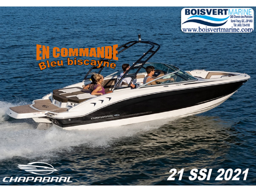2021 Chaparral boat for sale, model of the boat is 21 Ssi & Image # 1 of 17