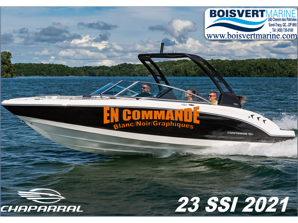 2021 Chaparral boat for sale, model of the boat is 23 Ssi & Image # 1 of 12