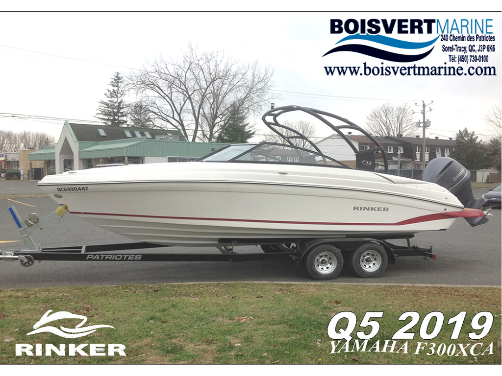 2019 Rinker boat for sale, model of the boat is Q5 & Image # 1 of 8