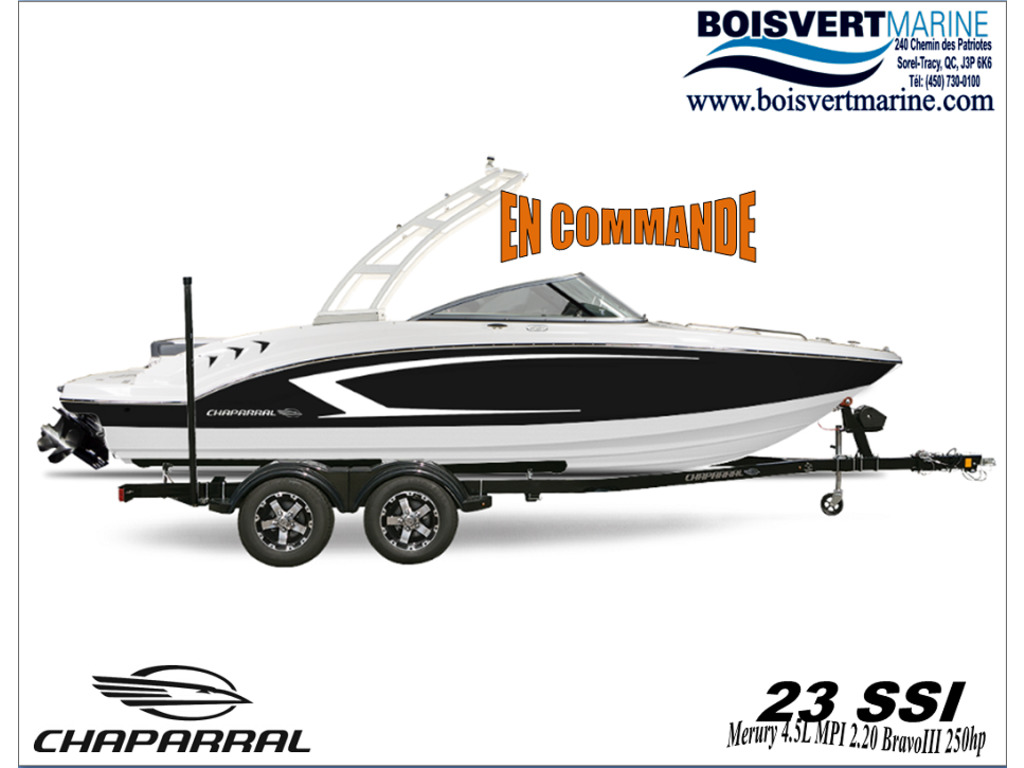 2021 Chaparral boat for sale, model of the boat is 23 Ssi  & Image # 1 of 8