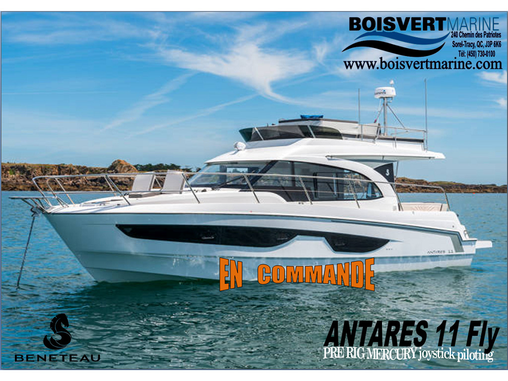 2021 Beneteau boat for sale, model of the boat is Antares 11 Fly  & Image # 1 of 14