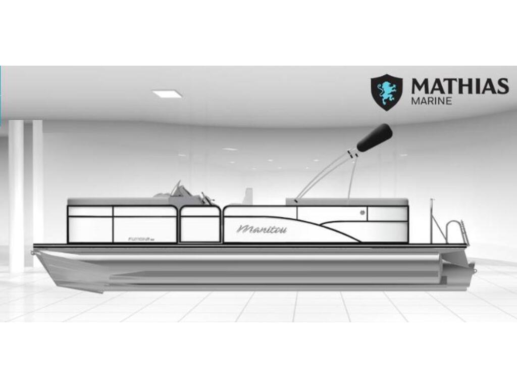 2021 Manitou boat for sale, model of the boat is 23 Aurora Le Vp Rf Merc 150 Xl & Image # 1 of 1