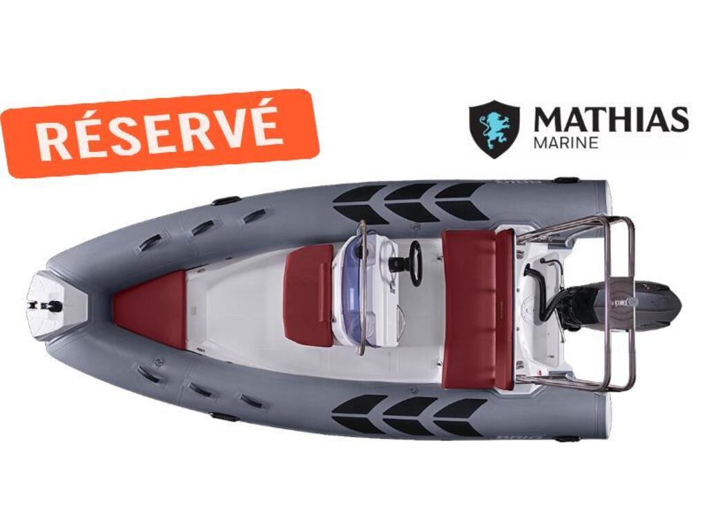 2020 Brig boat for sale, model of the boat is N485lbk Navigator Et 60 Hp Mercury & Image # 4 of 4