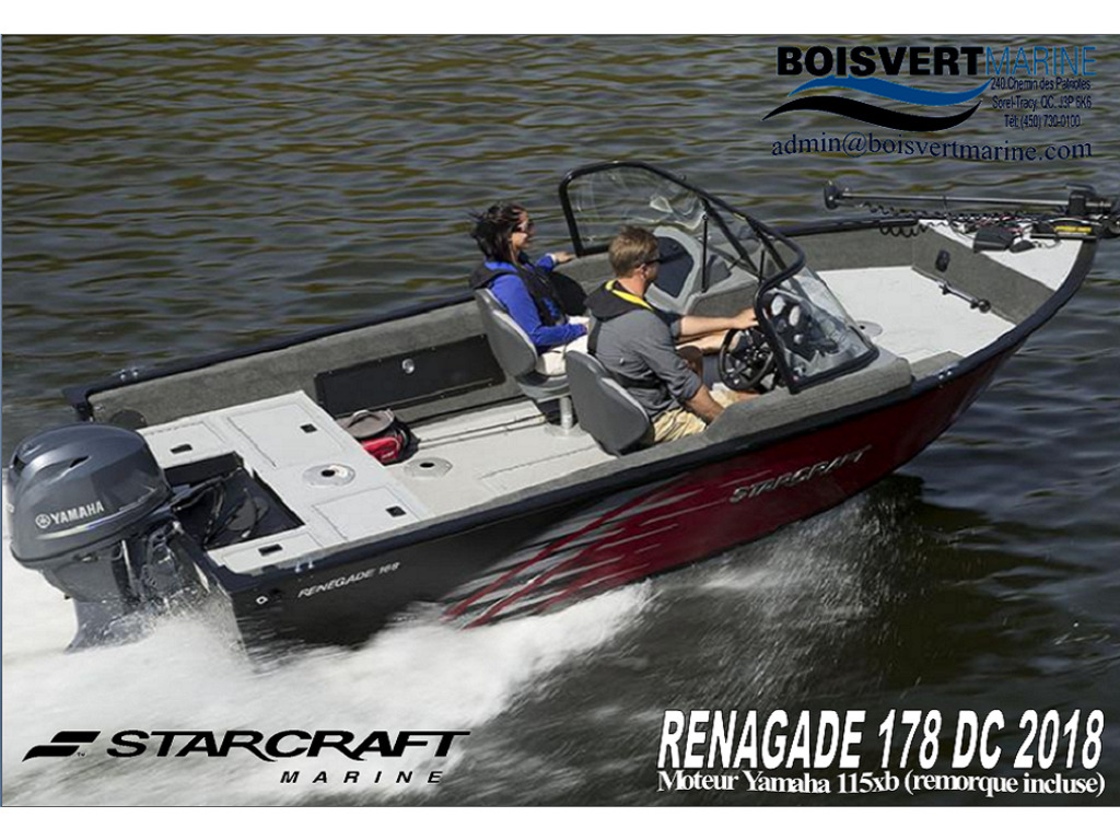 2018 Starcraft boat for sale, model of the boat is Renegade 178dc  & Image # 10 of 10