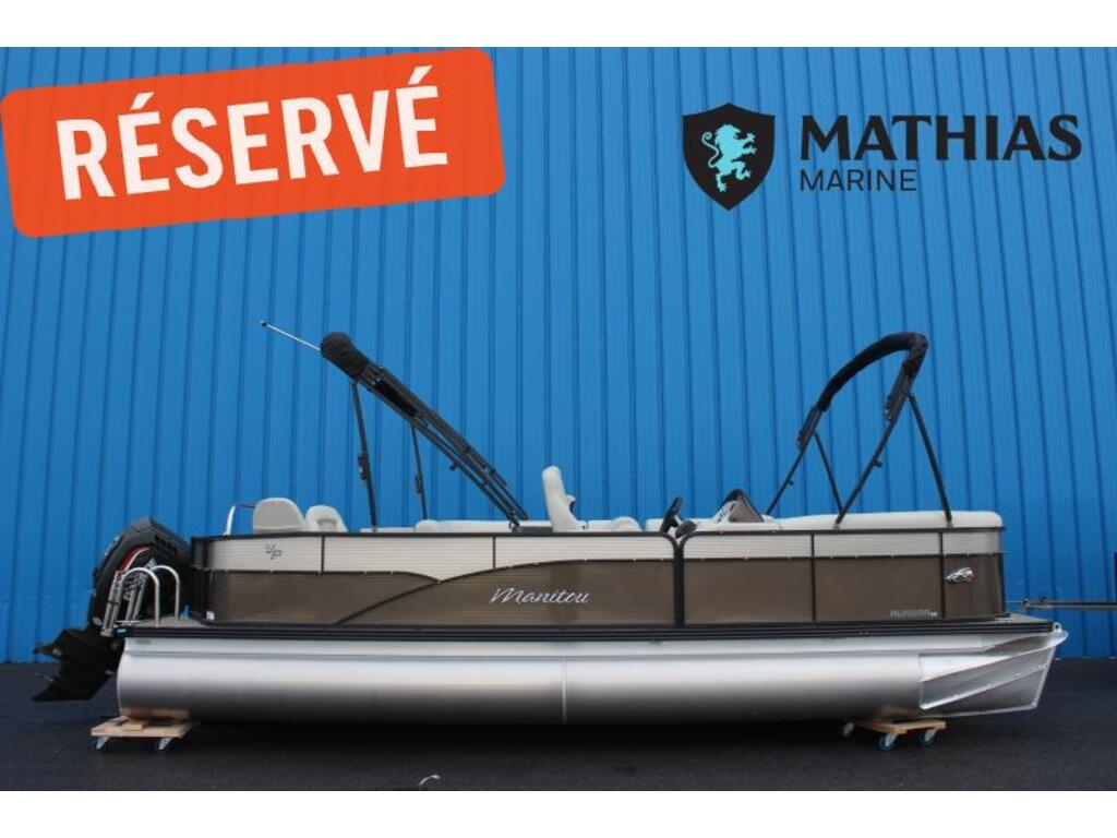 2020 Manitou boat for sale, model of the boat is 22 Aurora Angler Le Vp & Image # 1 of 7