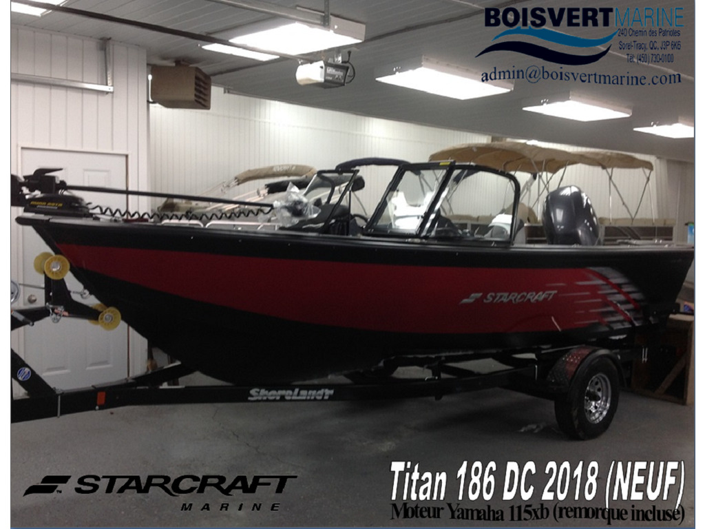2018 Starcraft boat for sale, model of the boat is Titan 186 Dc & Image # 14 of 14