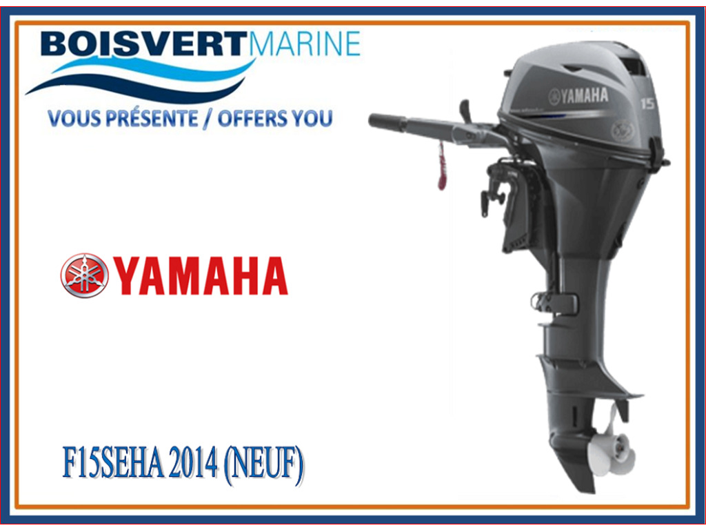2014 Yamaha boat for sale, model of the boat is F15seha & Image # 1 of 2