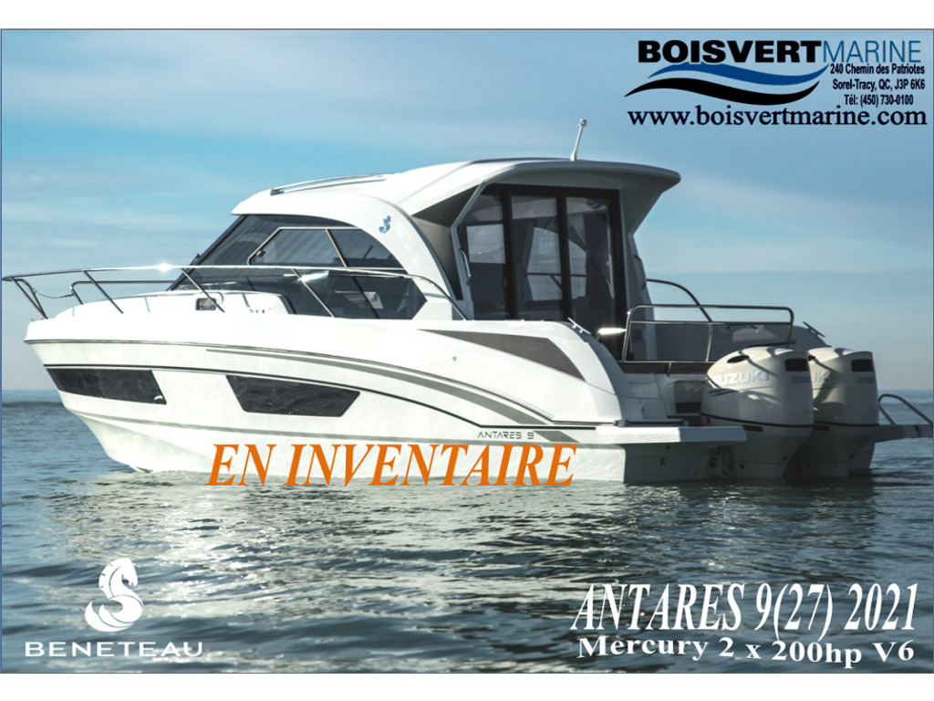 2021 Beneteau boat for sale, model of the boat is Antares 9(27) & Image # 1 of 16