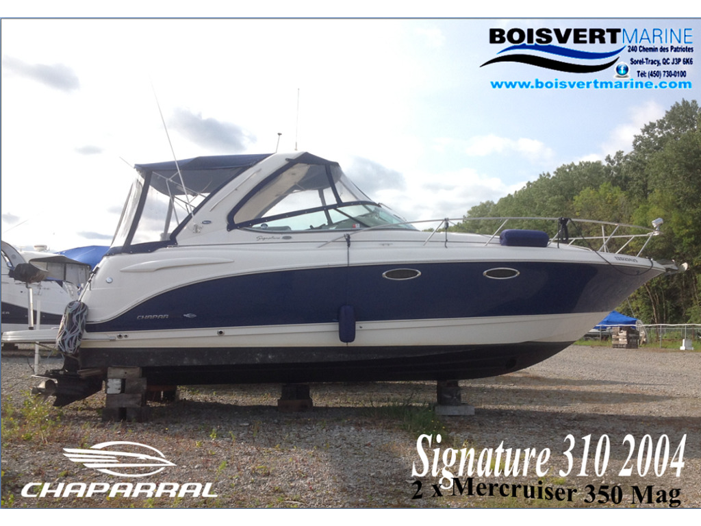 2004 Chaparral boat for sale, model of the boat is Signature 310 & Image # 1 of 16