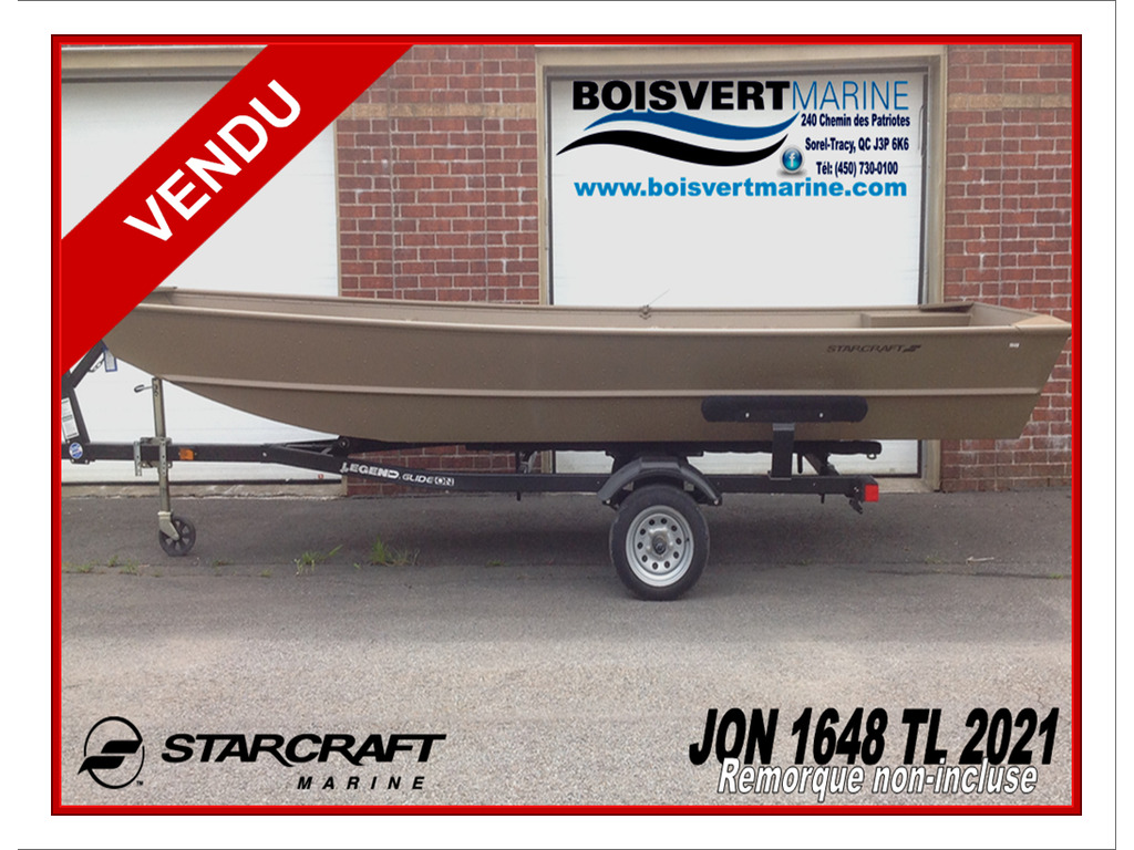2021 Starcraft boat for sale, model of the boat is Jon Boat 1648 Tl & Image # 1 of 4