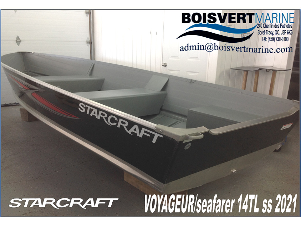2021 Starcraft boat for sale, model of the boat is Voyageur/sf 14 Tl Ss & Image # 1 of 3