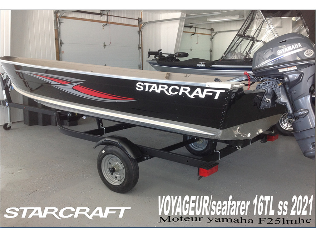 2021 Starcraft boat for sale, model of the boat is Voyageur/sf 16 Tl & Image # 1 of 5