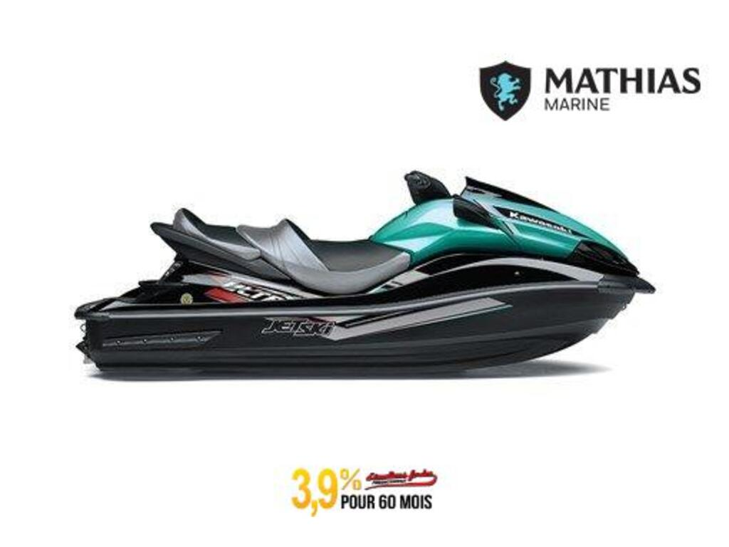 2021 Kawasaki boat for sale, model of the boat is Jet Ski Ultra Lx ÉbÈne / MarÉe Turquoise & Image # 1 of 2