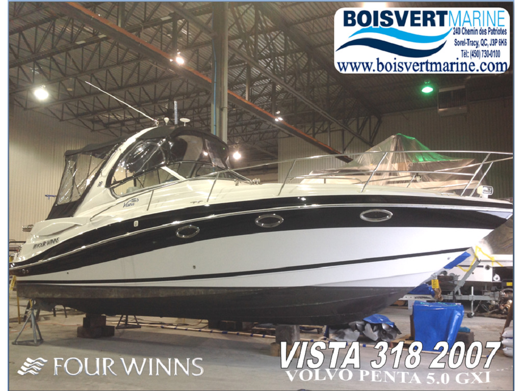 2007 Four Winns boat for sale, model of the boat is Vista 318  & Image # 14 of 14