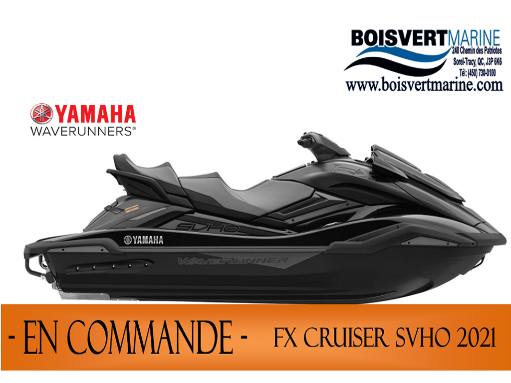 2021 Yamaha boat for sale, model of the boat is Fx Cruiser Svho & Image # 6 of 6