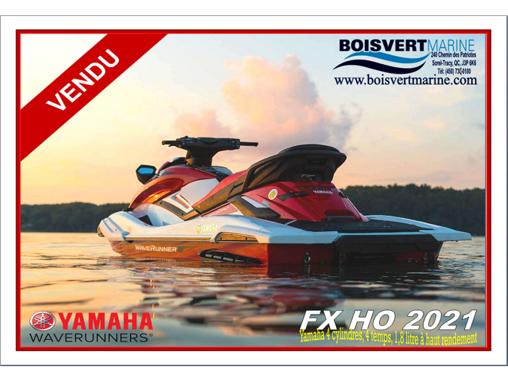 2021 Yamaha boat for sale, model of the boat is Fx Ho & Image # 1 of 6