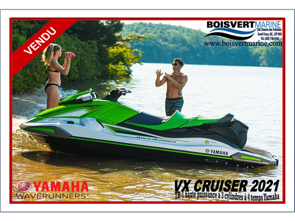 2021 Yamaha boat for sale, model of the boat is Vx Cruiser (audio) & Image # 1 of 6
