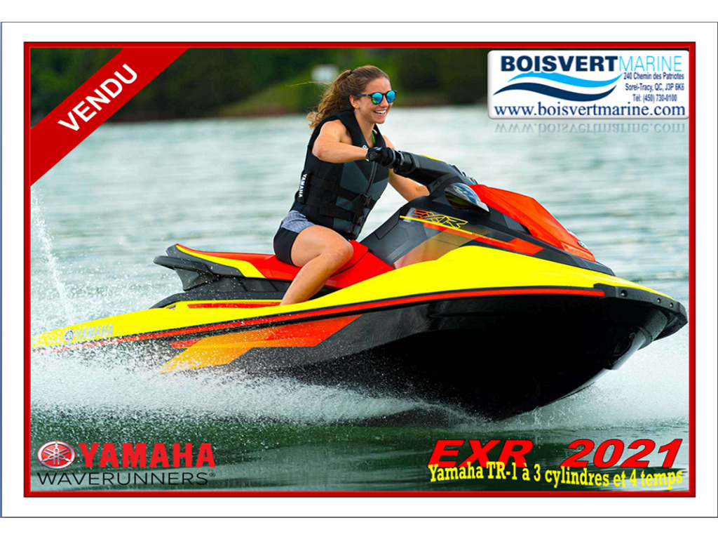 2021 Yamaha boat for sale, model of the boat is Exr & Image # 1 of 6