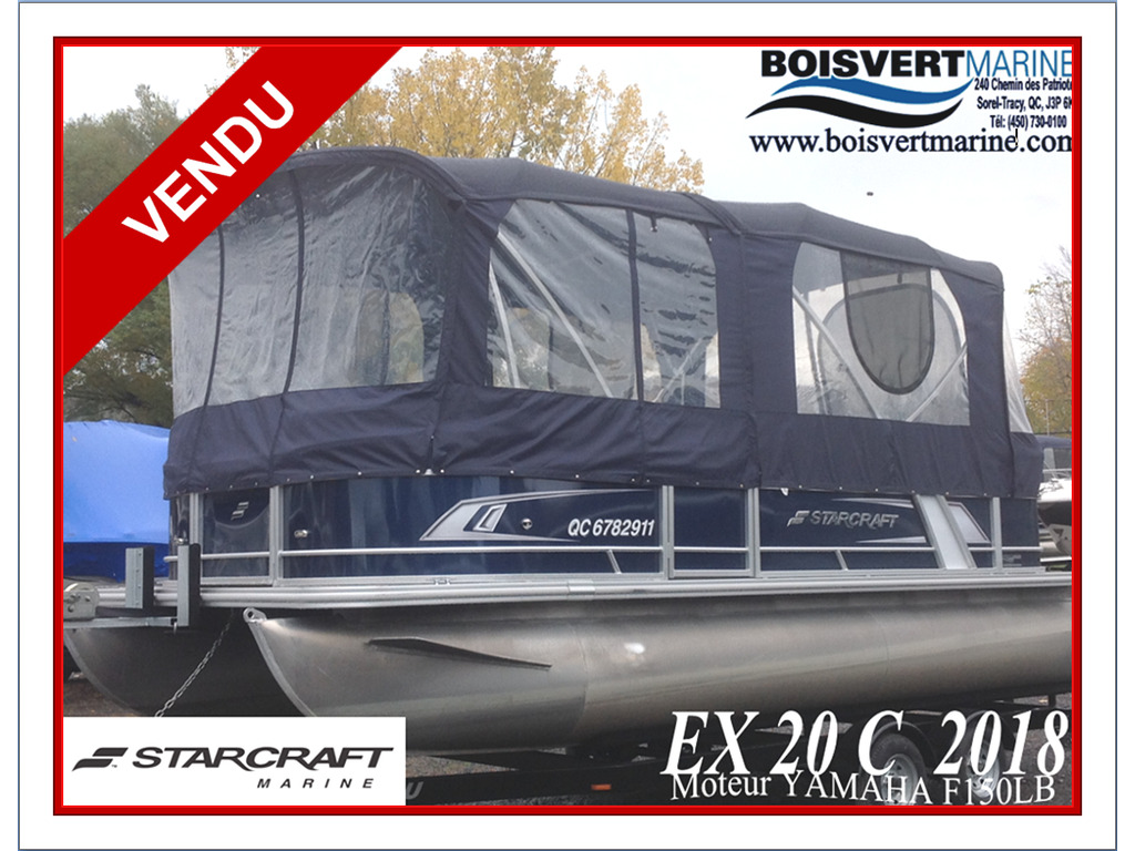 2018 Starcraft boat for sale, model of the boat is Ponton Ex 20c & Image # 1 of 18