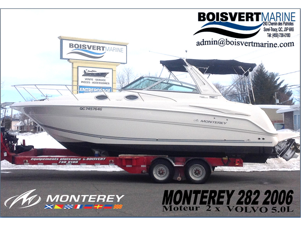 2006 Monterey boat for sale, model of the boat is 282 & Image # 1 of 23