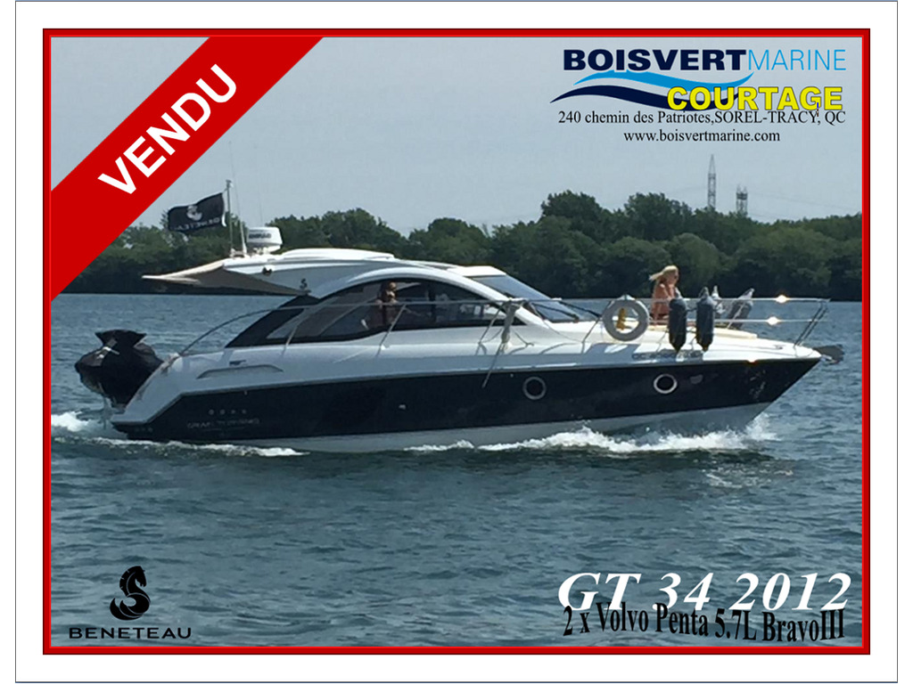 2012 Beneteau boat for sale, model of the boat is Gt 34 & Image # 1 of 17