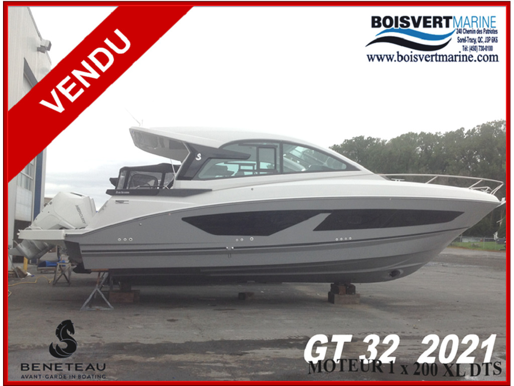 2021 Beneteau boat for sale, model of the boat is Gt32 O/b & Image # 1 of 24
