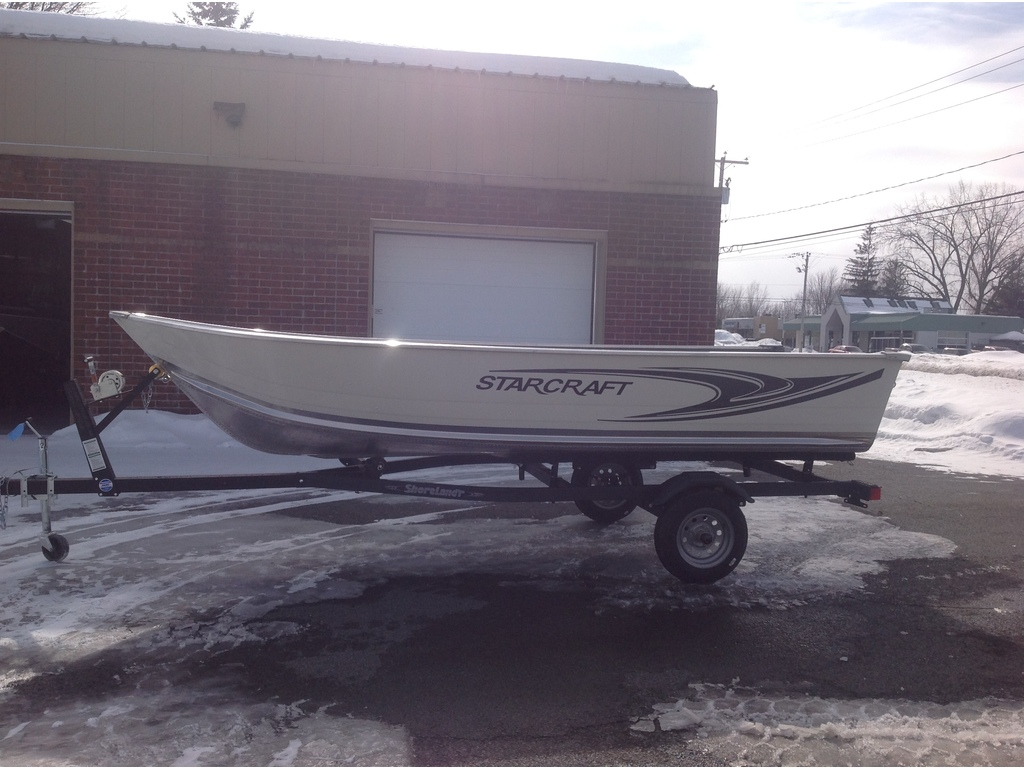 2021 Starcraft boat for sale, model of the boat is Alaskan Tl Dlx 15' (split) & Image # 2 of 7