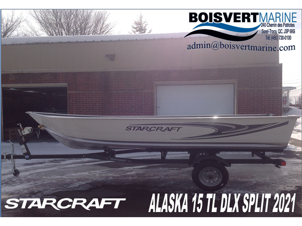2021 Starcraft boat for sale, model of the boat is Alaskan Tl Dlx 15' (split) & Image # 1 of 7