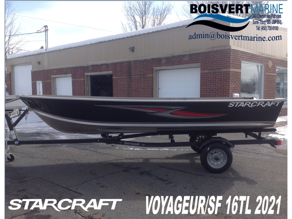 2021 Starcraft boat for sale, model of the boat is Voyageur/sf 16 Tl  & Image # 1 of 6