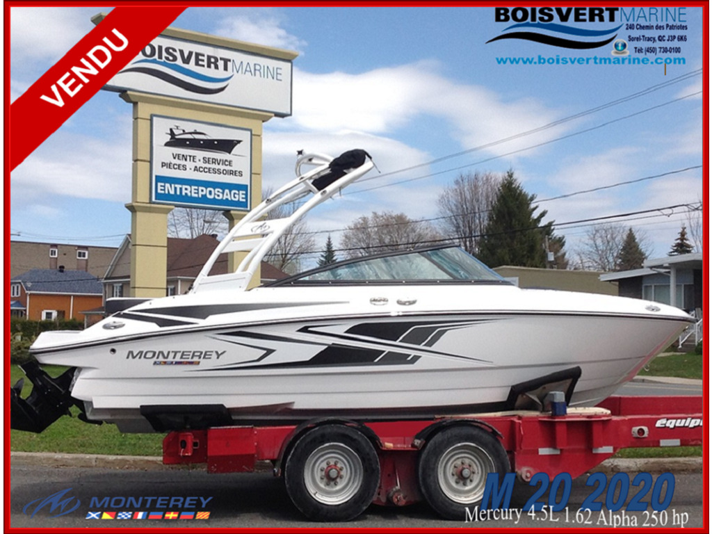 2020 Monterey boat for sale, model of the boat is M20 & Image # 1 of 18