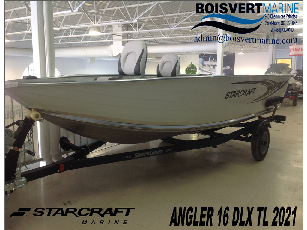 2021 Starcraft boat for sale, model of the boat is Patriote/patriot 16 Dlx Tl & Image # 1 of 8