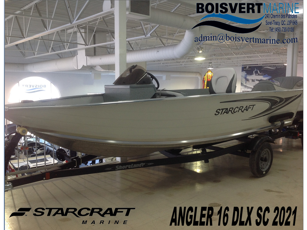 2021 Starcraft boat for sale, model of the boat is Patriote/patriot 16 Dlx Sc & Image # 1 of 8