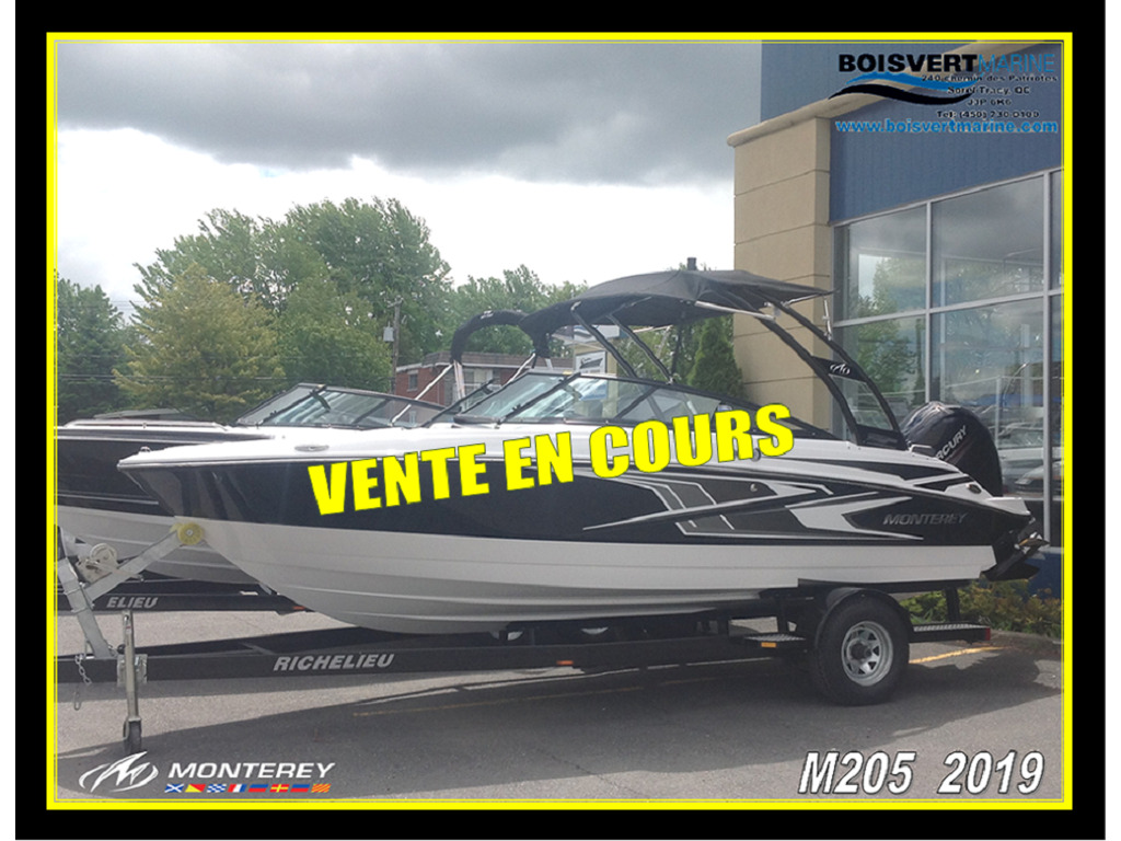 2019 Monterey boat for sale, model of the boat is M205 & Image # 16 of 16