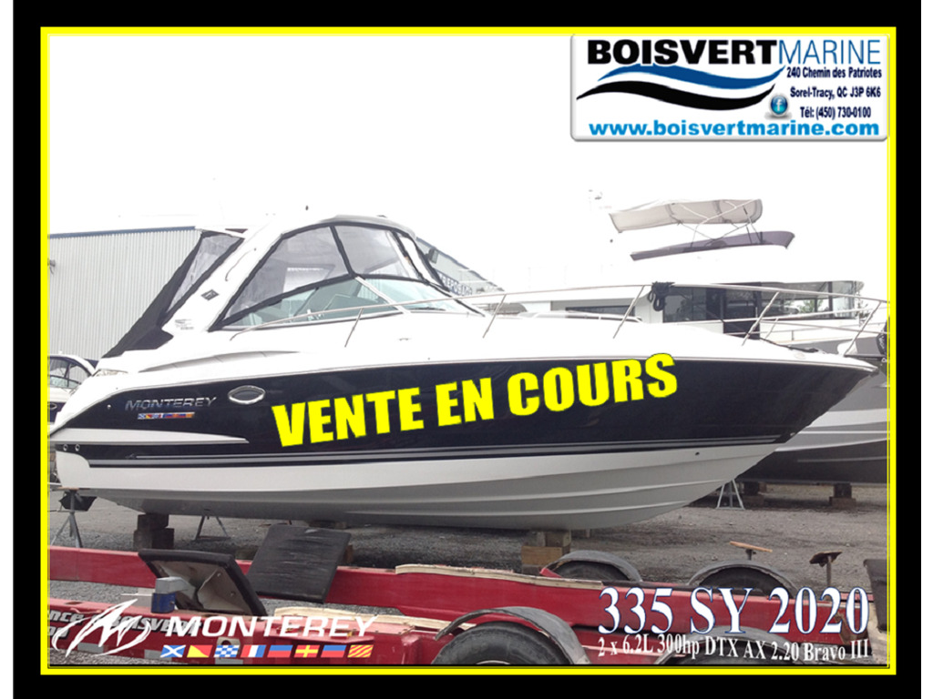 2020 Monterey boat for sale, model of the boat is 335sy & Image # 1 of 25